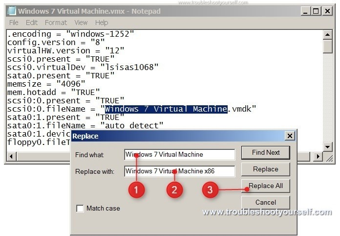 Rename VMWare Virtual Machine image