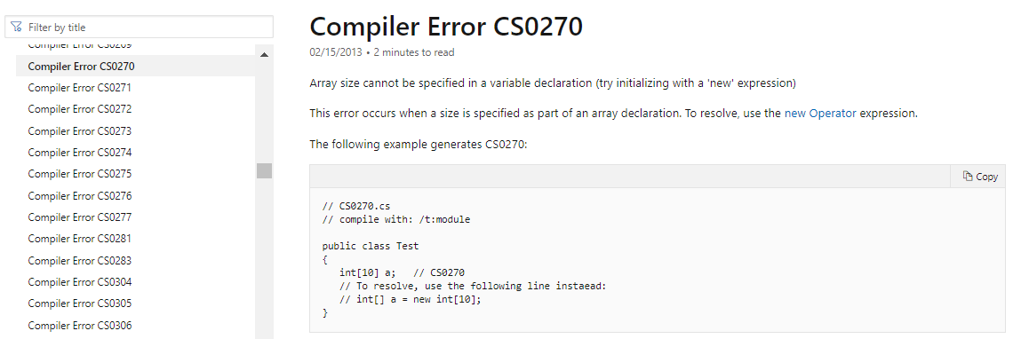 compiler errors and warnings