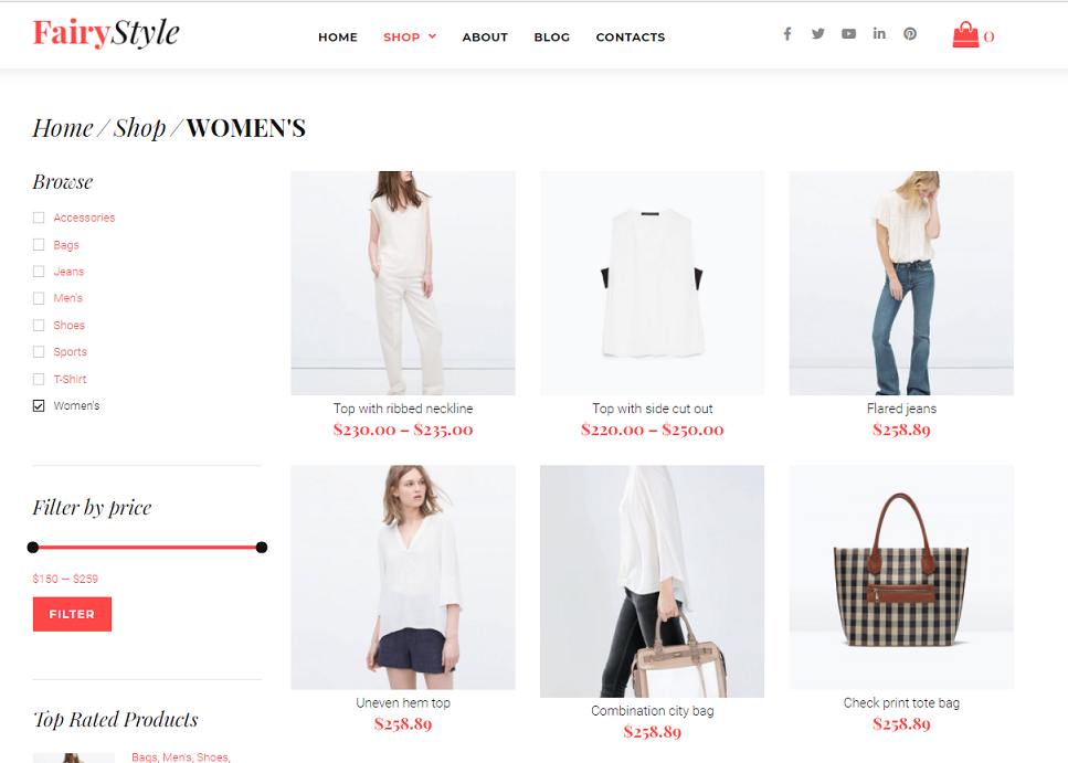 Fashion WordPress WooCommerce Themes